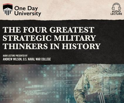 Audio CD The Four Greatest Strategic Military Thinkers in History Book