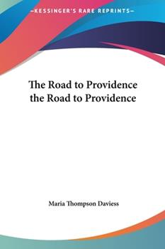 Hardcover The Road to Providence Book