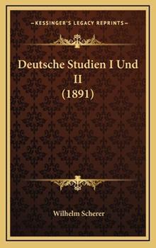 Hardcover Deutsche Studien I und II Book