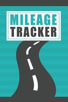 Paperback Mileage Tracker : Log Book for Business Vehicle Book