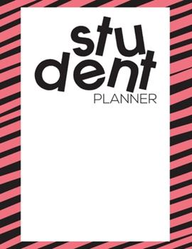 Paperback Student Planner : Academic Planner August 2019 to July 2020 - High School Student Yearly Organizer Book