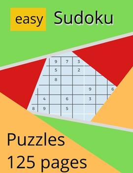 Paperback Easy Sudoku Puzzles : A Compact & Travel-Friendly Puzzle Book: 8. 5x11 Inches in Size Easy - Games, Puzzles & Trivia Challenges Specially Designed to Keep Your Brain Young, Big Book Sudoku, Puzzles 9x9 Samurai Sudoku Puzzle Book Puzzles Overlapping Book
