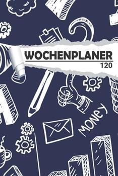 Paperback Wochenplaner Gsch�ft : Eleganter Terminplaner I DIN A5 I 120 Seiten I Undatiert I Wochenkalender I Organizer F�r Schule, Uni und B�ro [German] Book