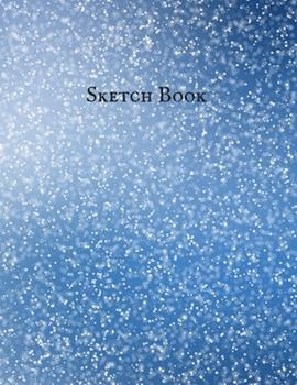 Paperback Sketch Book : Journal & Notebook-Star Cover: 8. 5 X 11 , a Large Journal with Blank Paper for Drawing, Doodling, Painting, Writing, Working, Class, Etc [Large Print] Book