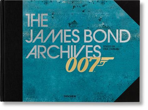 """Hardcover The James Bond Archives. """"No Time To Die"""" Edition Book"""
