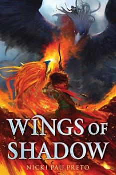 Hardcover Wings of Shadow Book