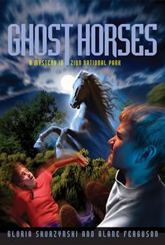 Ghost Horses (Mysteries in Our National Parks, Book 6) 1426301081 Book Cover