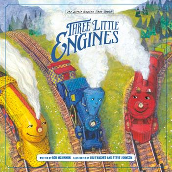Hardcover Three Little Engines Book