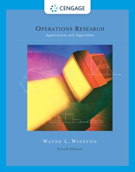 Operations Research: Applications and Algorithms (with CD-ROM and InfoTrac) 0871500655 Book Cover