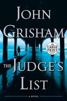 Paperback The Judge's List [Large Print] Book
