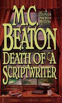 Hardcover Death of a Scriptwriter Book