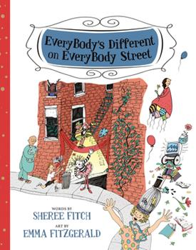 EveryBody's Different on EveryBody Street 1771086009 Book Cover