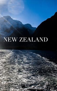Paperback New Zealand Writing Drawing Journal Book