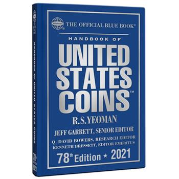 Hardcover Handbook of United States Coins 2021 Book