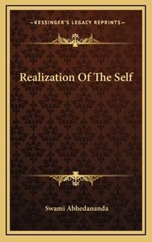 Hardcover Realization of the Self Book