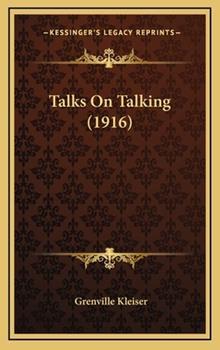 Hardcover Talks on Talking Book