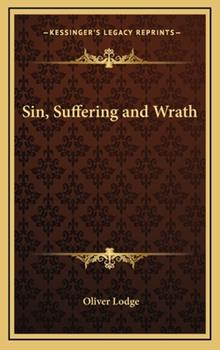 Hardcover Sin, Suffering and Wrath Book