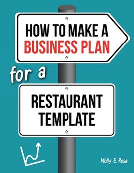Paperback How To Make A Business Plan For A Restaurant Template Book