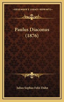 Hardcover Paulus Diaconus Book