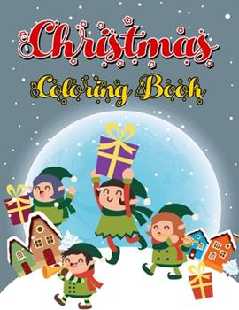 Paperback Christmas Coloring Book: 200 Pages - Jumbo Kids Christmas Holiday Coloring Designs Including Santa, Christmas Trees, Snowman and More! Book