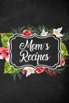 Paperback Mom's Recipes Book