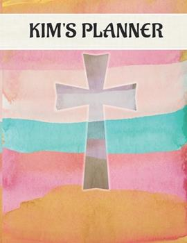 Paperback Kim's Planner : January 1, 2020 - December 31, 2020, 379 Pages, Soft Matte Cover, 8. 5 X 11 Book
