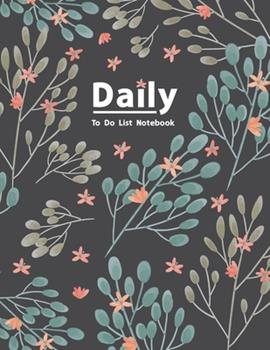 Paperback Daily to Do List Notebook : Organizer Planner for 3 Month - Daily Checklist Journal - Task Management Notebook - Daily Schedule Organizer - Hourly Appointment Notebook - Daily Meal Planner - for Personal Business - Time Management Minimalist Planner Book