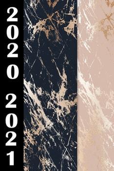 Paperback 2020 / 2021 : Planer Mit Marmor Soft Cover F?r das Jahr 2020 Und 2021 [German] Book