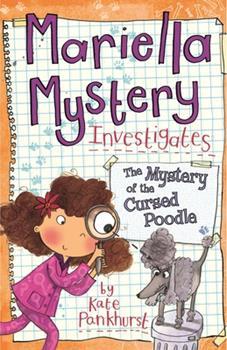 Mariella Mystery Investigates The Mystery of the Cursed Poodle - Book #4 of the Mariella Mystery