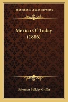 Paperback Mexico of Today Book