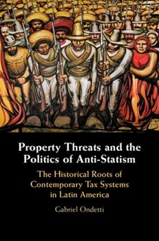 Hardcover Property Threats and the Politics of Anti-Statism Book