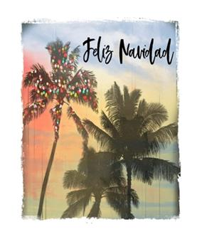 Paperback Feliz Navidad : Mexican Holiday Christmas Notebook with Lined Wide Ruled Paper for Taking Notes. Stylish Tropical Travel Journal Diary 7. 5 X 9. 25 Inch Soft Cover. for Home, Work or School [Spanish] Book