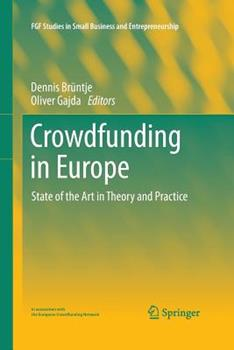 Paperback Crowdfunding in Europe: State of the Art in Theory and Practice Book