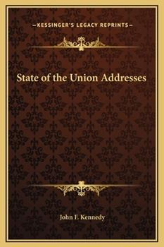 Hardcover State of the Union Addresses Book