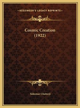 Hardcover Cosmic Creation Book