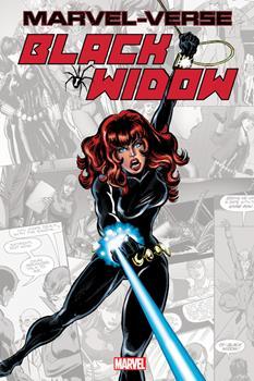 Paperback Marvel-Verse: Black Widow Book