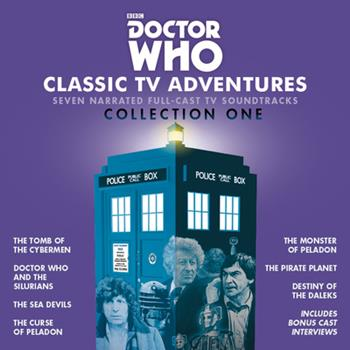 Audio CD Doctor Who: Classic TV Adventures Collection One: Seven Full-Cast BBC TV Soundtracks Book