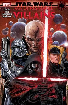 Paperback Star Wars: Age of Resistance - Villains Book