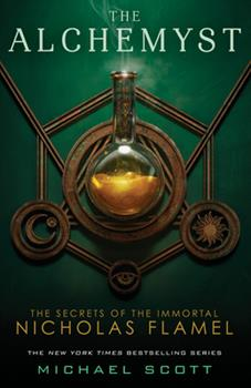 The Alchemyst: The Secrets of The Immortal Nicholas Flamel 0385736002 Book Cover