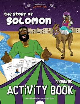 Paperback The story of Solomon Activity Book
