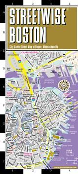 Map Streetwise Boston Map - Laminated City Center Street Map of Boston, Massachusetts [French] Book