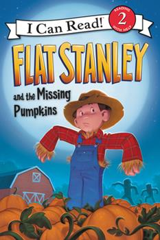 Flat Stanley and the Missing Pumpkins 0062365940 Book Cover