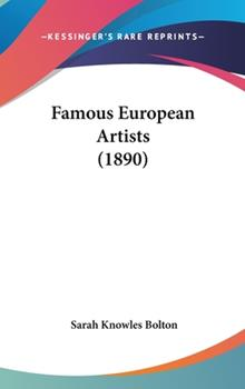 Hardcover Famous European Artists Book