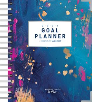 Hardcover The Christy Wright Goal Planner 2021 Book