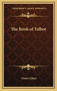 Hardcover The Book of Talbot Book