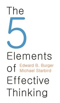 The Five Elements of Effective Thinking 0691156662 Book Cover
