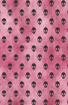 Paperback Dot Grid Journal Notebook : Pink Gothic Glam Rocker Goth Skull - Bullet Planner Book - Dotted Grid - 5. 5 X 8. 5 120 Pg - DIY Weekly Spread - Organizer - Habit Tracker- Gift Creatives Book