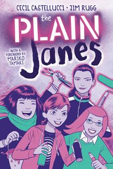 The Plain Janes 0316522813 Book Cover