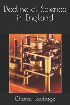 Paperback Decline of Science in England Book
