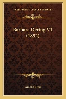 Paperback Barbara Dering V1 Book